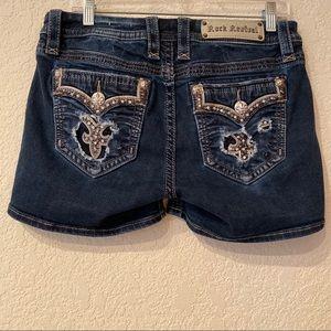 Rock Revival | Iselin Easy Jean Shorts